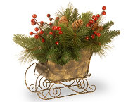 shop Long Needle Pine Cone Sleigh