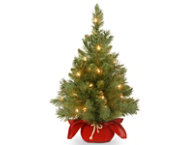 shop Red Fir Tree w/ Lights