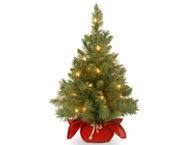 shop Red Fir Tree w/ LED