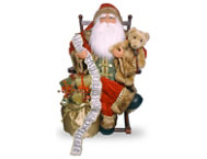 shop Santa On Rocking Chair