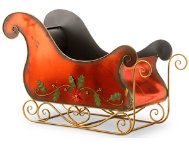 shop Metal Holiday Sleigh