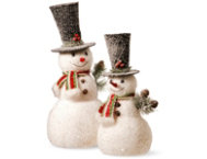 shop Sr. & Jr. Snowman Set