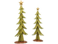 shop Metal Holiday Tree Set