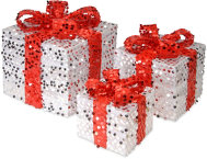 shop White Sequin Gift Box 3pc Set
