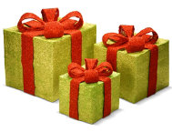 shop Green Gift Box 3pc Set