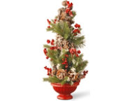 shop Frosted Rustic Holiday Tree