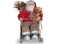 shop Santa In A Sleigh