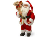 shop Santa With Toy Bag
