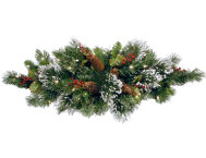 shop Winter Pine Centerpiece w/ LED