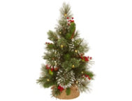 shop Wintery Pine Tree w/ LED