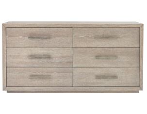 NB2 Casual Modern 6-Drawer Dresser