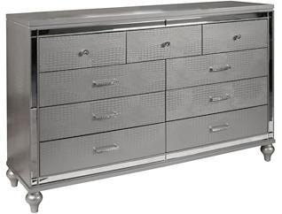 Valentino Silver Dresser, , large