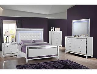 Valentino White Dresser, , large
