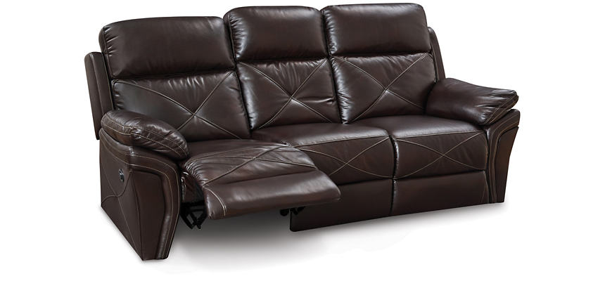 Magnificent Nova Chocolate Power Reclining Sofa Outlet At Art Van Pdpeps Interior Chair Design Pdpepsorg