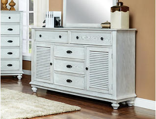 Lakeport Dresser, White, , large