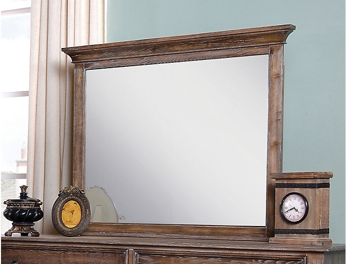 Lakeport Mirror, Brown, , large