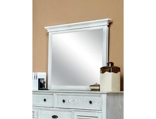Lakeport Mirror, White, , large