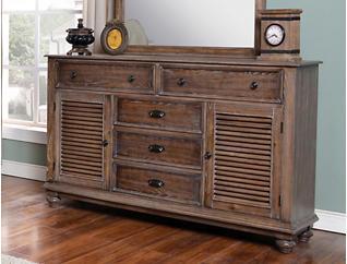 Lakeport Dresser, Brown, , large