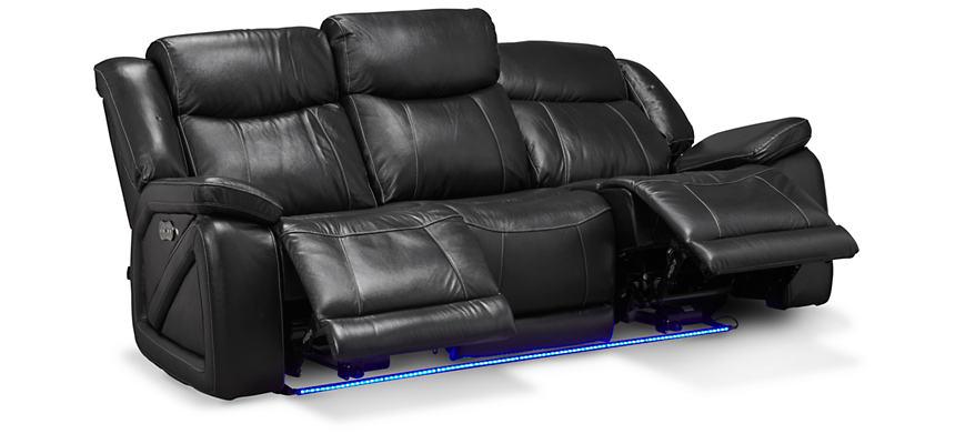 Bon Las Vegas Dual Power Reclining Sofa