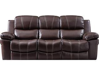 Legato Dual Power Leather Sofa, , large