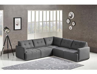 Colony Charcoal 3 Piece Modular Sectional, , large