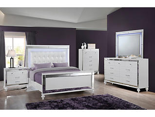 Valentino King Bed, , large