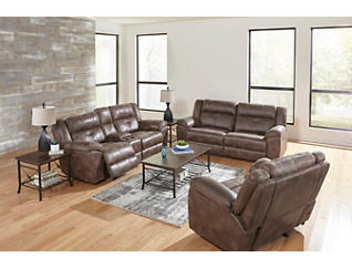 Mercer Glider Recliner, , large