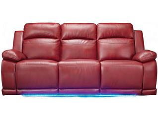 Vega Reclining Sofa, Red, , large