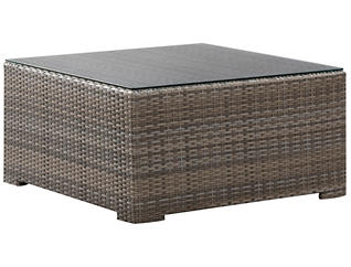 Carmel Square Coffee Table, Brown, , large