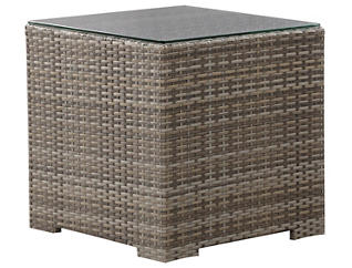 Carmel Square End Table, Brown, , large