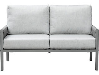 Gramercy Loveseat, Grey, , large