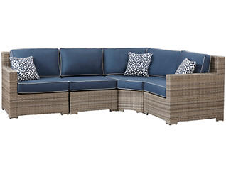 Carmel 4pc Modular Seating, , large
