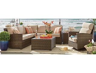 Carson II 3PC Sectional, , large