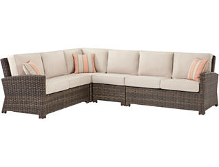 Carson II 4PC Sectional, , large