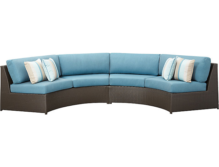 Soho III 2PC Curved Sectional, , large