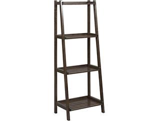 Radford Espresso Ladder Shelf, , large