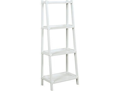 Radford White Ladder Shelf, , large