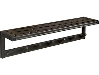 Dover Espresso Wall Shelf, , large