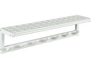 Dover White Wall Shelf, , large