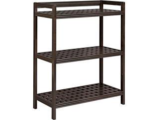 """Dover 44"""" Espresso Shelf, , large"""