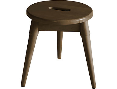 Griffin Chestnut Tripod Stool, , large