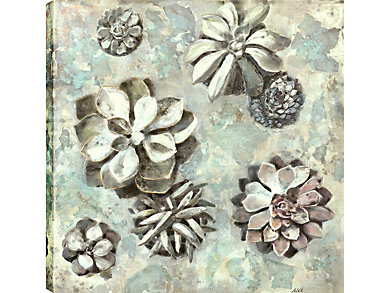 Rosettes I Canvas Wall Art, , large