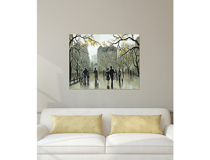 Autumn Promenade Canvas Art, , large