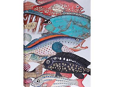 Fish II Acrylic Painting, , large