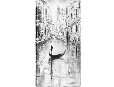 River In Vienna II Canvas Art, , large