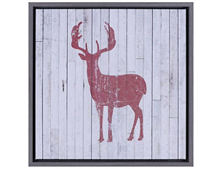 Red Deer Wooden Wall Art, , large