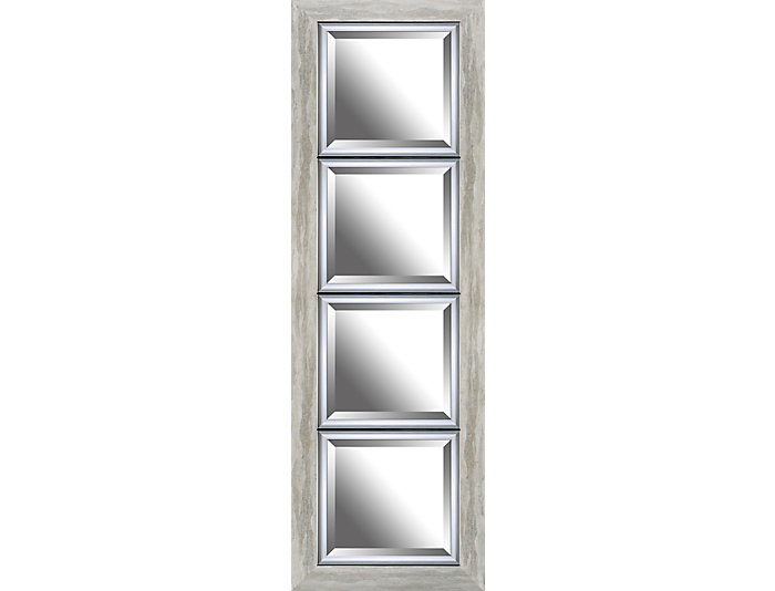 Edward Silver Wall Mirror, , large