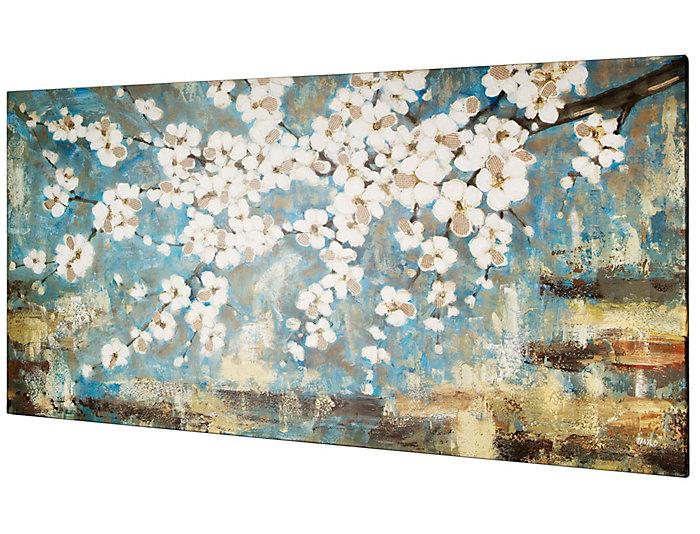 Tree Blossom Acrylic Painting, , large