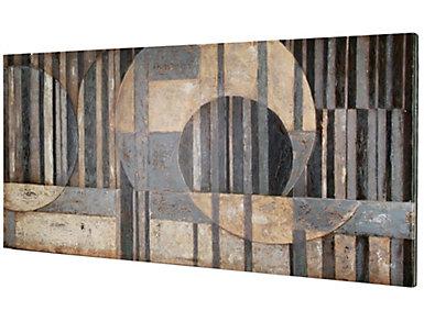 Optical Acrylic Painting, , large