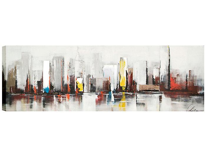 Cityscape Acrylic Painting, , large